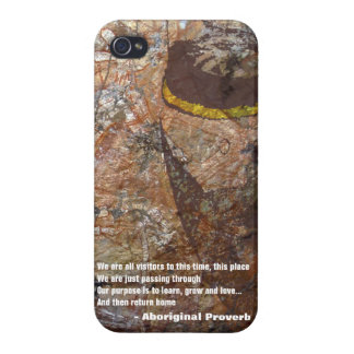 Aboriginal Proverb Case For The iPhone 4
