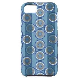 Aboriginal sea pattern iPhone 5 cases