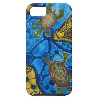 Aboriginal Turtles Painting iPhone 5 Cases