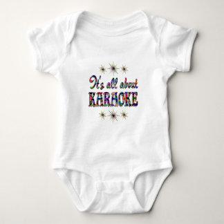 About Karaoke Baby Bodysuit