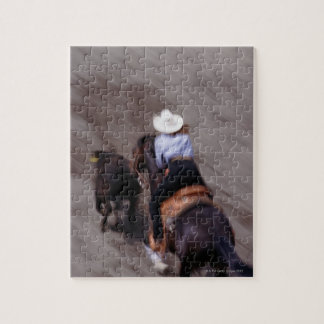 Above at Rodeo Jigsaw Puzzle