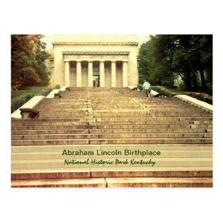 Abraham Lincoln Birthplace Postcard