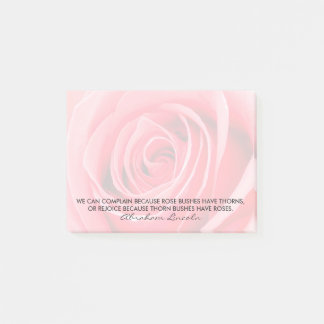 Abraham Lincoln Famous Rose Quote Post-It Notes