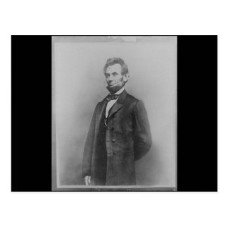 Abraham Lincoln, January 1864 Postcard