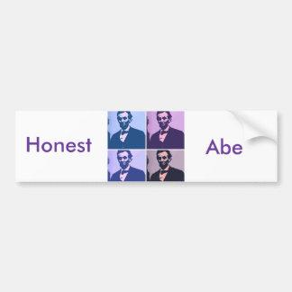 Abraham Lincoln Pop Art Bumper Sticker
