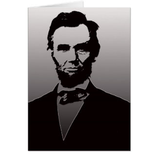 Abraham Lincoln Portrait Card