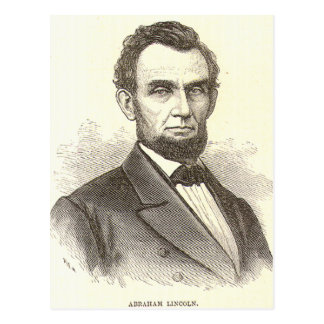 Abraham Lincoln Post Card