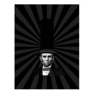 Abraham Lincoln Presidential Fashion Statement Postcard