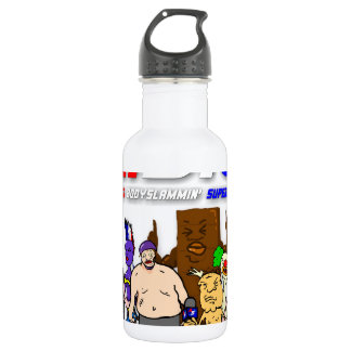 ABS WRESTLING!!! 532 ML WATER BOTTLE
