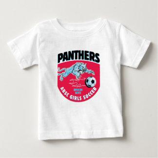 ABSC Panthers Girls Soccer Team Wear 2011 Baby T-Shirt