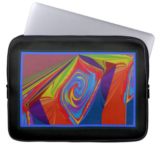 """ABSTRACT 13"""" LAPTOP SLEEVE"""