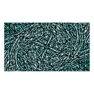 Abstract 25 business card
