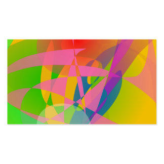 Abstract 2D Business Cards