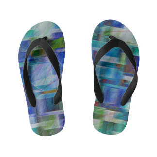 Abstract 404 kid's jandals