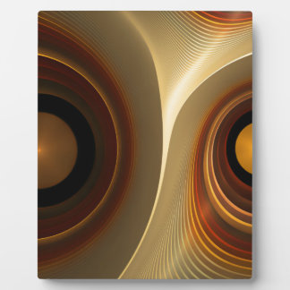abstract #4 display plaque