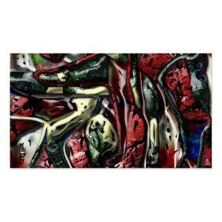 Abstract 60 business cards