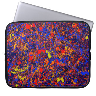 Abstract #737 laptop sleeve