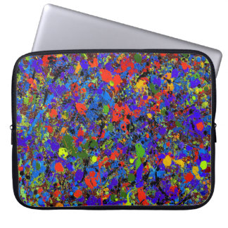 Abstract #738 laptop sleeve