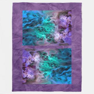 Abstract Apophysis Fractal I + your idea Fleece Blanket