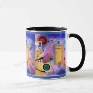 Abstract Art and Cubist Inspired mug
