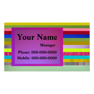 Abstract Art Pack Of Standard Business Cards