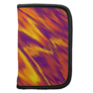 Abstract Art Dynamic Colors Mini Folio Planner