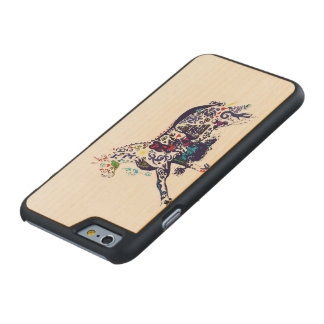 Abstract Art(Horse) I-phone 6 Wooden Case