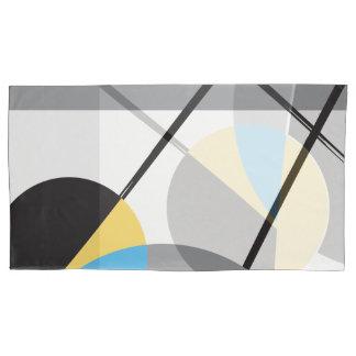 Abstract Art, Modern, Shapes by ©Lorena Depante Pillowcase