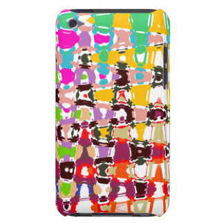 Abstract Art - multicolored triangles & shapes iPod Touch Cover