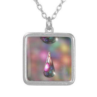 ABSTRACT ART PERSONALIZED NECKLACE