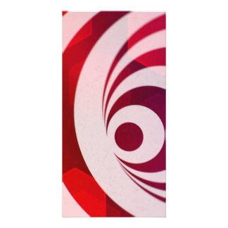 Abstract Art Photo Card Template