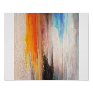 Abstract Art Poster