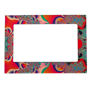 Abstract Art Red Meditation Magnetic Frame