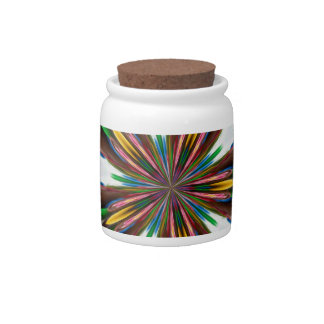ABSTRACT ART CANDY DISHES