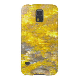 Abstract Aspen leaves Samsung cell phone case