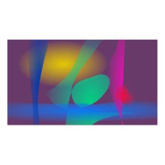 Abstract Balance Business Card