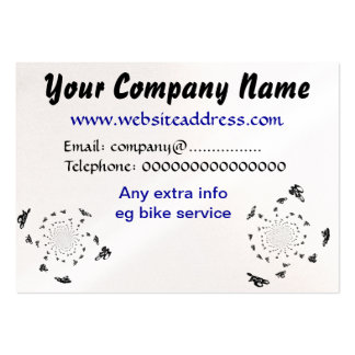 Abstract Bike Art Pack Of Chubby Business Cards