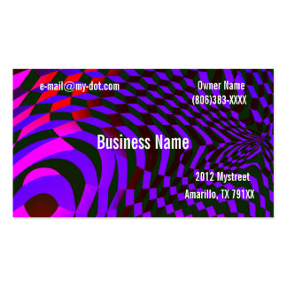 Abstract Blocks Business Card