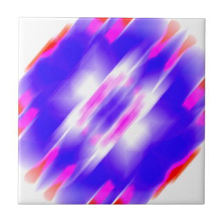 Abstract Blue Dream Tile