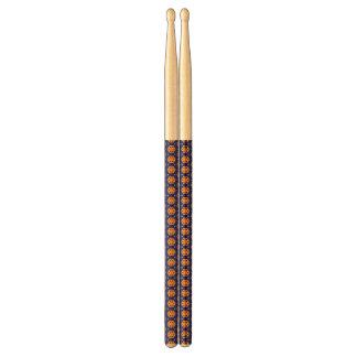 abstract blue&orange drumsticks
