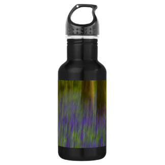 Abstract Bluebell Woods 532 Ml Water Bottle