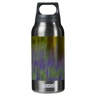 Abstract Bluebell Woods Insulated Water Bottle