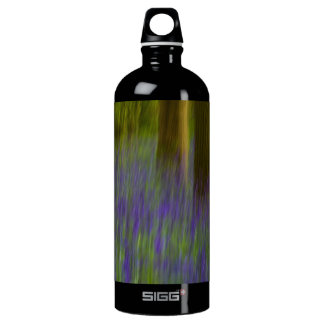 Abstract Bluebell Woods Water Bottle