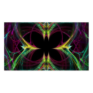 Abstract Butterfly Business Card Template