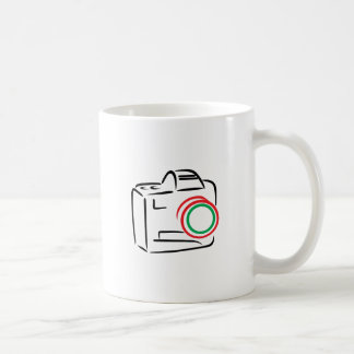 Abstract Camera Coffee Mug