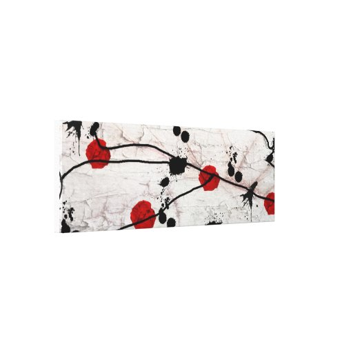 abstract gallery wrap canvas
