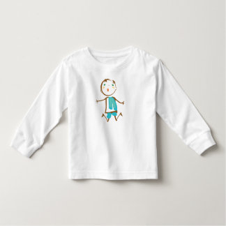 Abstract Child Jumping Toddler T-Shirt