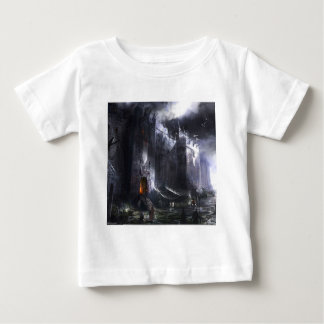 Abstract City Medieval Castle Baby T-Shirt