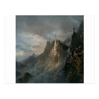 Abstract City Rock Postcard