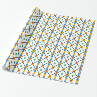 Abstract classic pattern gift wrap